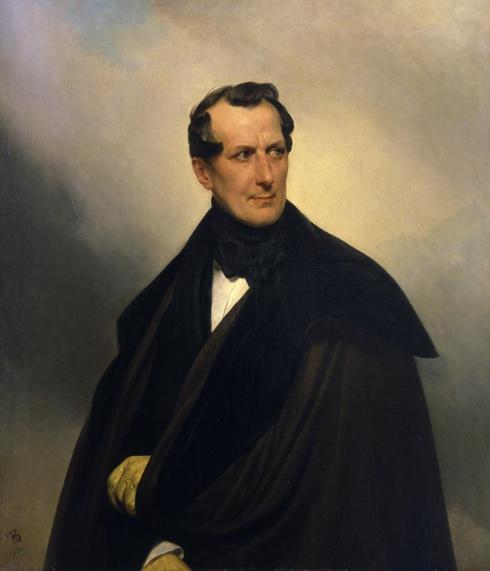 Брюллов К.П. (1799—1852). Портрет графа В.А. Мусина-Пушкина. 1830-е