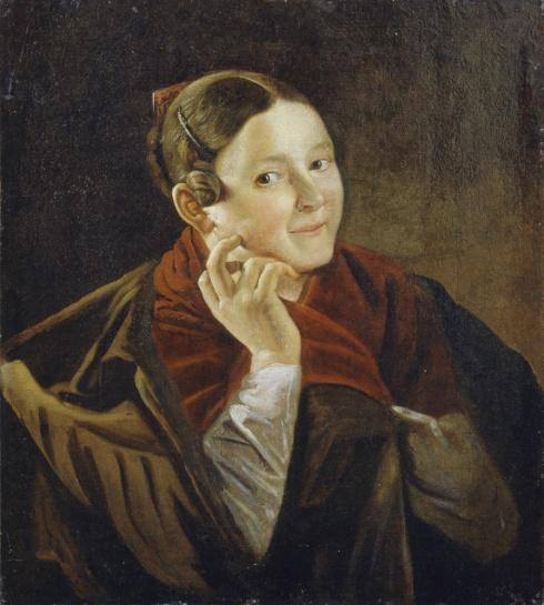 Тропинин В.А. (1776—1857). Сплетница. Конец 1820-х – начало 1830-х