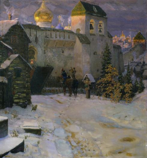 Васнецов А.М.  (1856—1933). Старорусский город. 1899