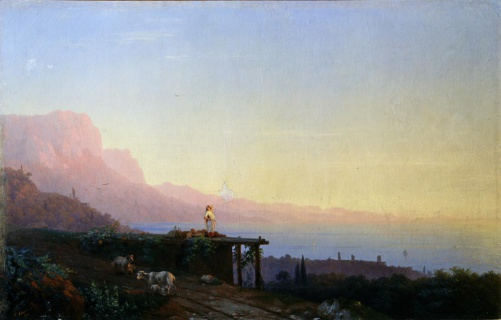 Айвазовский И.К. (1817—1900). Южная ночь. 1848