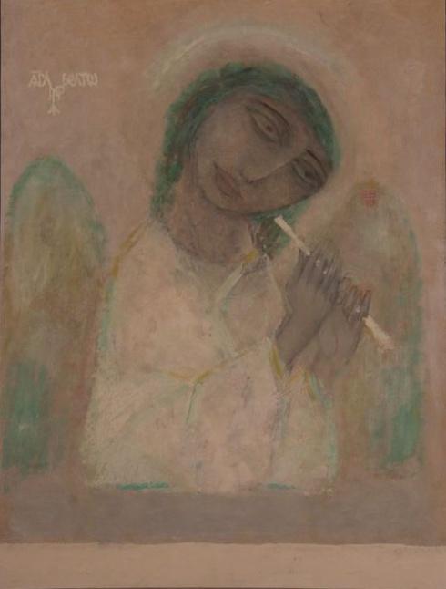 Егоров С.Г. Род. 1950. Ангел Белого моря. 1993