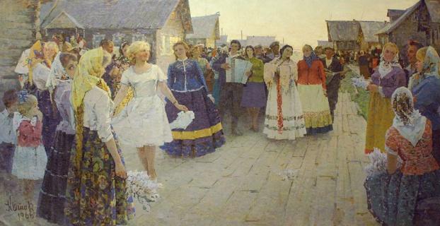 Котов И.С. (1923-1989). Праздник песни. 1966
