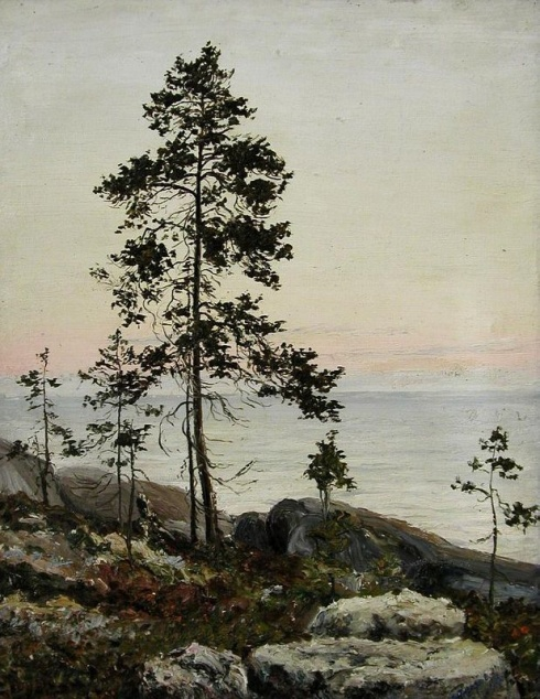 Писахов С.Г. (1879–1960). Берег Белого моря. 1909