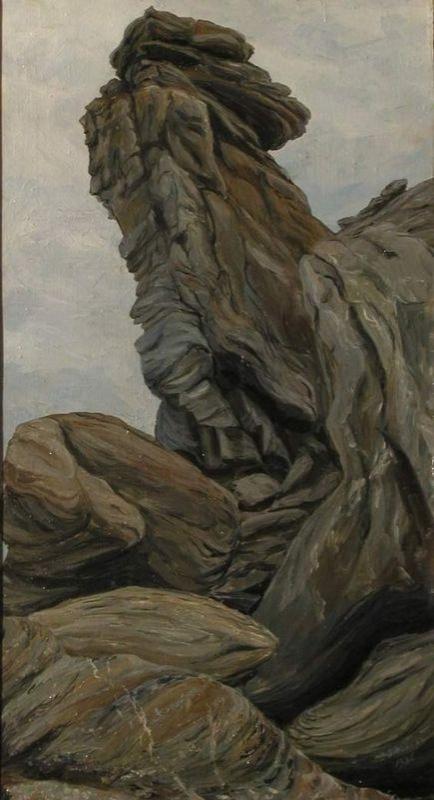 Писахов С.Г. (1879–1960). Камни на мысе Желания. 1936