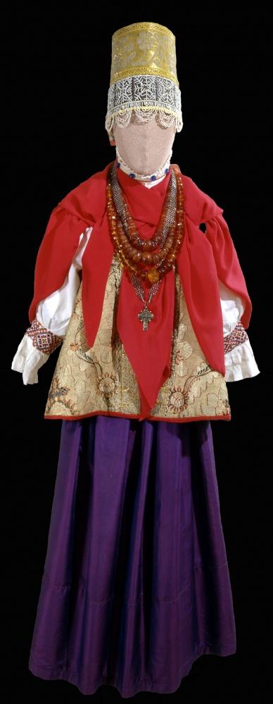 Праздничный девичий костюм «повязочницы»