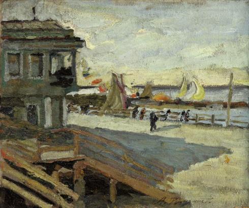 Яхт-клуб. 1936