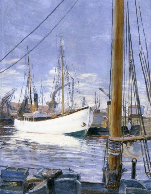 В Архангельском порту. 1920-е