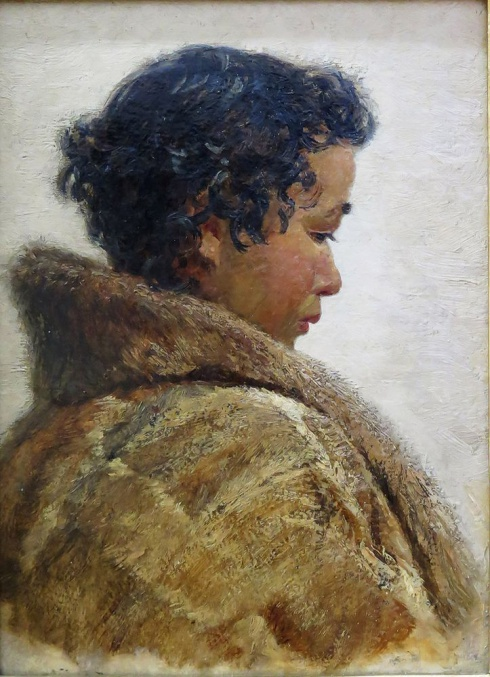 Ненецкая девочка с острова Колгуев. 1954
