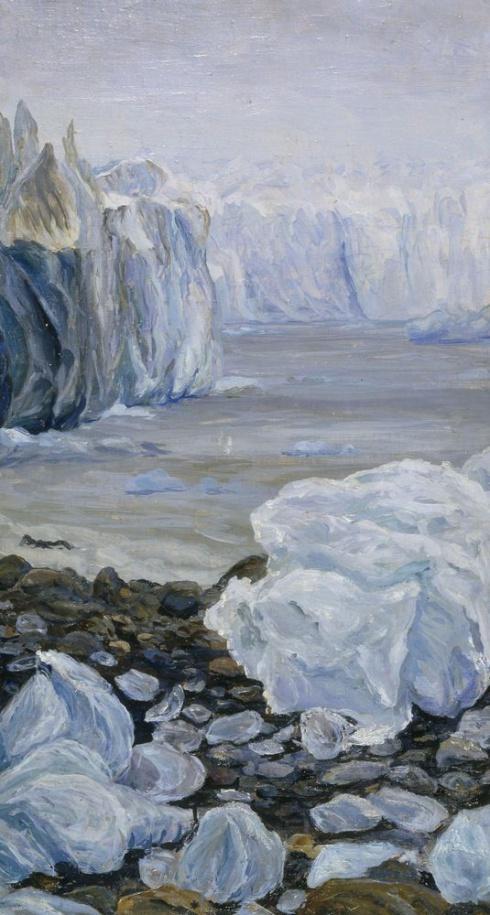 Арктический пейзаж. 1936