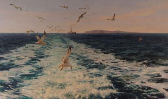 На морских путях. 1961