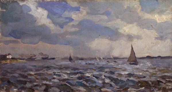 Ветреный день. 1937