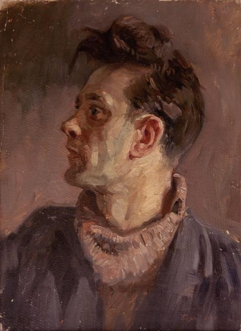 Портрет художника Булкина. 1954