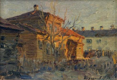 Дом на Вологодской улице. 1954