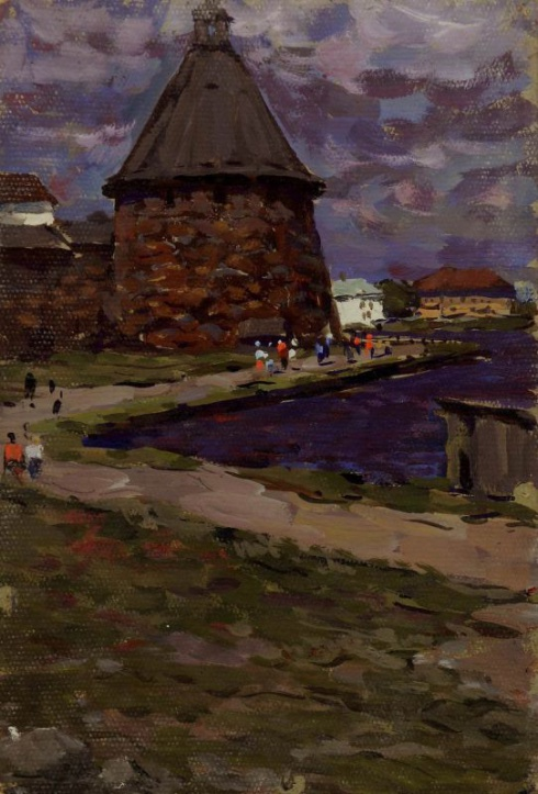 На Соловках. 1966
