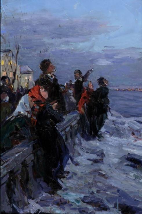 Первый спутник над Архангельском. 1960