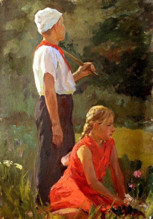 Пионерское лето. 1950-1960-е