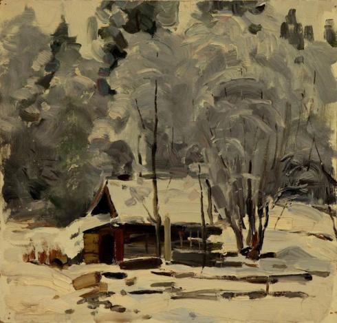 Зима. 1976