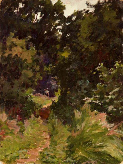 В лесу. 1961