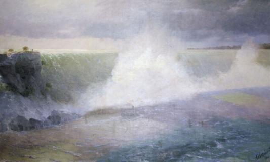 Ниагарский водопад. 1900