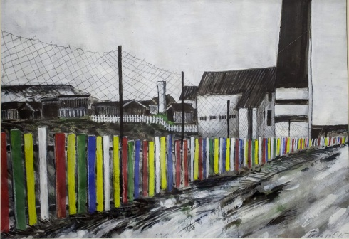 Кирха в Вардё. 2015