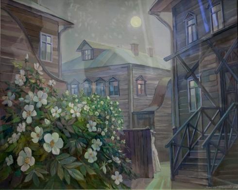 Белая ночь. Шиповник. 2016
