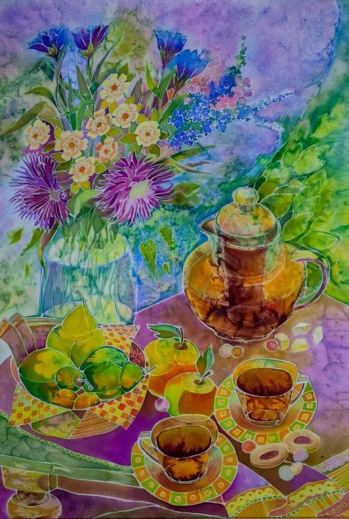 Утренний чай. 2015