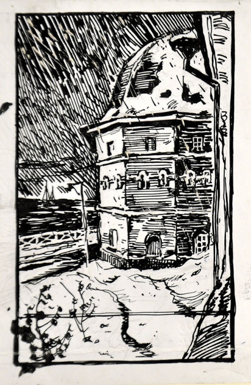 Башня гостиного двора. 1930-е
