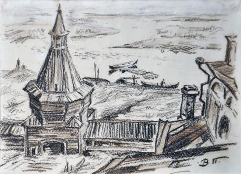 Николо-Корельский монастырь. 1930-е