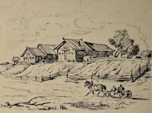 В Мезени. 1930-е