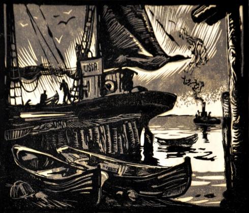 Портовый мотив. 1930-е