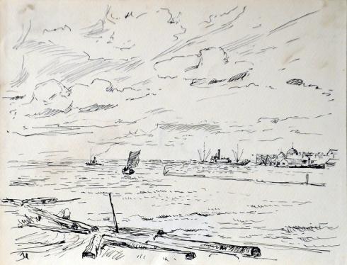 На Северной Двине. 1930-е