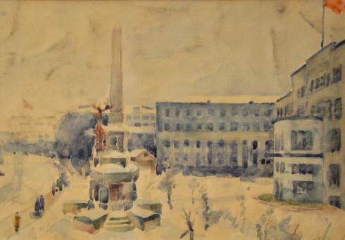 Улица П. Виноградова. 1932-1935