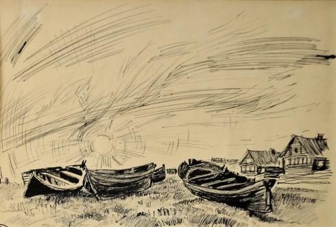 Лодки. 1930-е