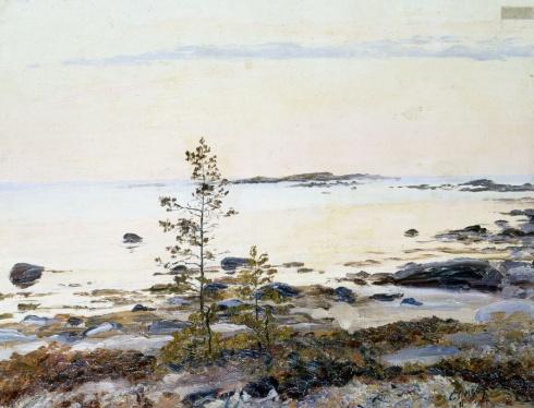 Полночь (Июнь в Белом море). 1911