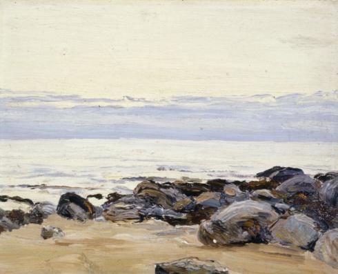 Берег с камнями. 1910-е