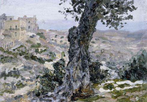 Южный этюд . 1905 - 1907