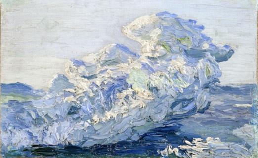 Льды в Карском море. Этюд. 1910-е