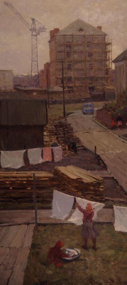 На окраинах Архангельска. 1960