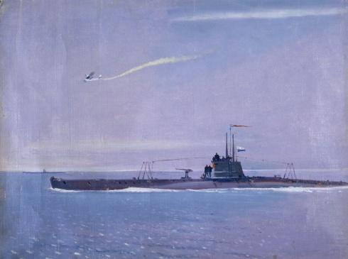 Подводная лодка. 1940-е годы