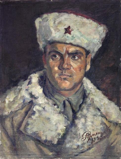 Портрет фронтовика. 1943