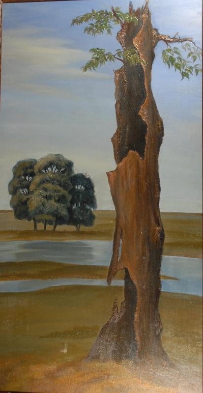 Старое дерево. 1985