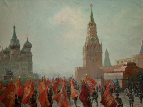 Парад Победы. 1946