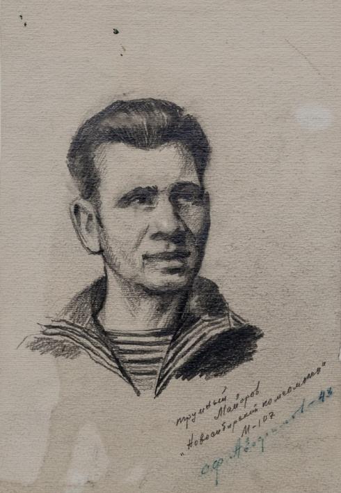 Трюмный Максим Майоров. Северный флот. 1943