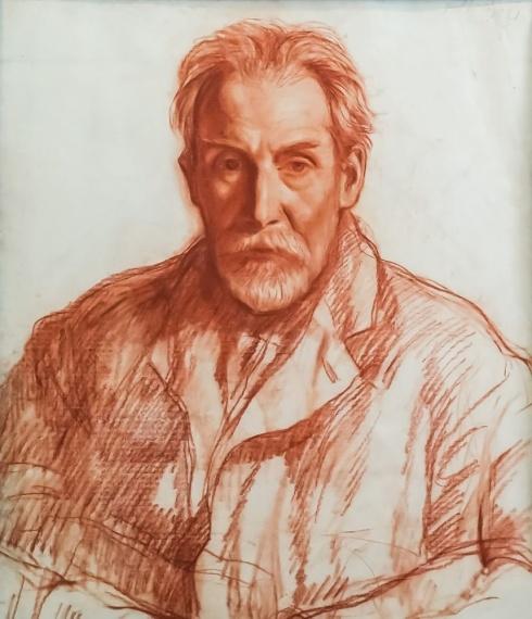 Портрет художника Бенуа. 1921