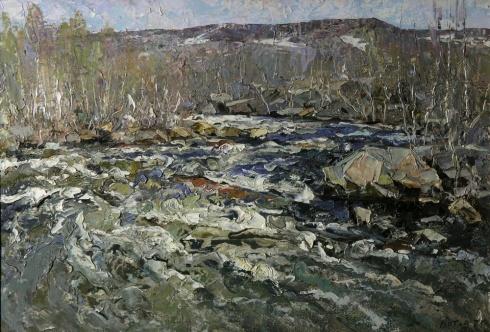 Река Ваенга. 1978
