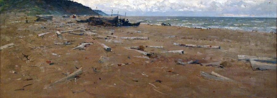 Побережье Белого моря. 1963
