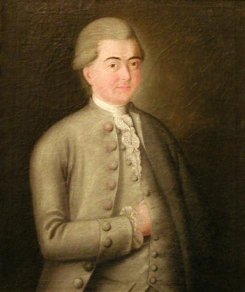 Портрет купца И.К. Баженина (1748? - ?) 1784